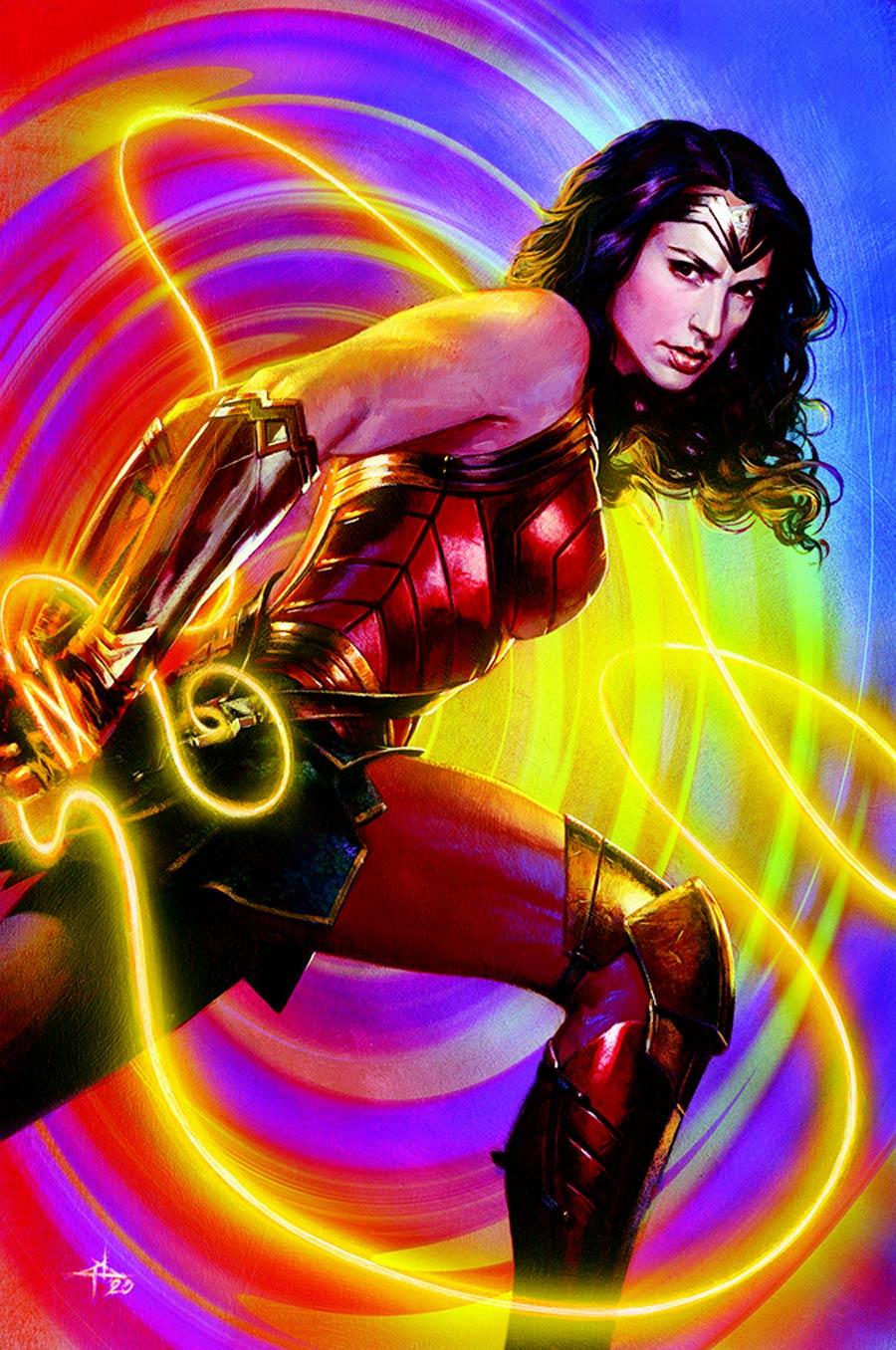 10//13//2020 SUPERMAN #26 CVR C GABRIELE DELL OTTO WONDER WOMAN 1984 VAR