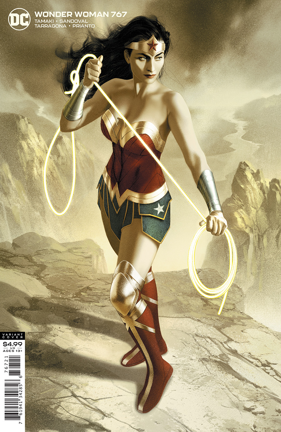 Wonder Woman #761 Cvr B Joshua Middleton Card Stock Var 2020 Dc Comics
